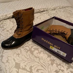 Madden Girl Weather Boot
